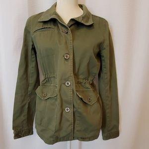 Element coat army green, size small EUC